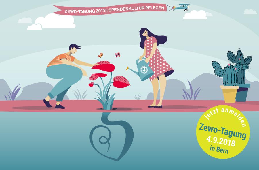 """Zewo Tagung 2018 """"Spendenkultur pflegen"""""""